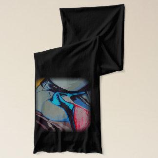 """""""Mädchen-Problem"""" auf einem Jersey-Schal Schal"""