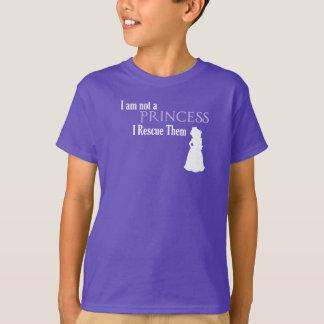 Mädchen retten auch die Prinzessin T-Shirt