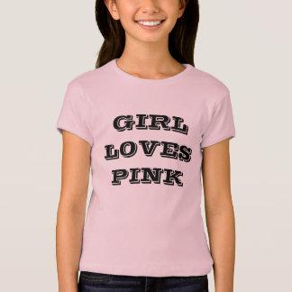 Mädchen schauen und fühlen sich im 4.5oz 100% r T-Shirt