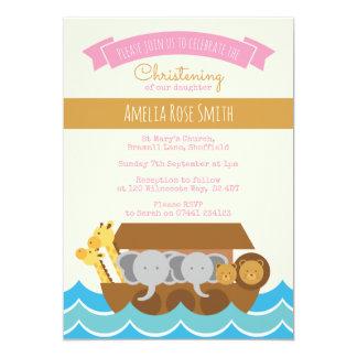 Mädchen-Taufe/Taufe-Einladung 12,7 X 17,8 Cm Einladungskarte