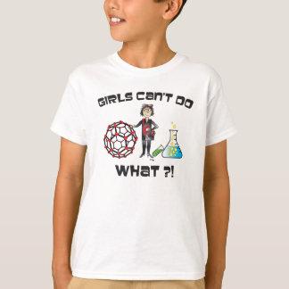 Mädchen-Wissenschafts-Shirt T-Shirt
