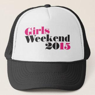 Mädchenwochenende 2015 truckerkappe