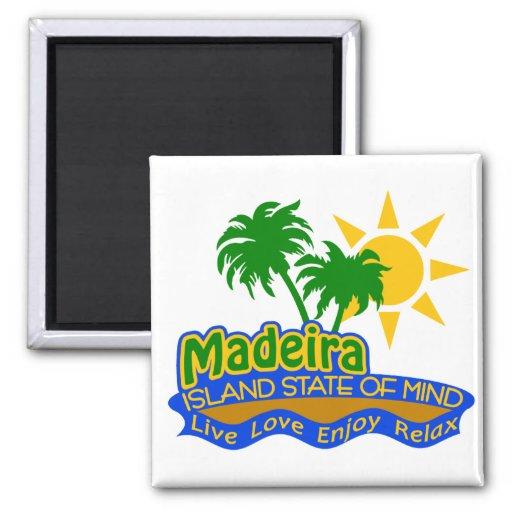 Madeira-Staat des Sinnesmagneten Kühlschrankmagnete