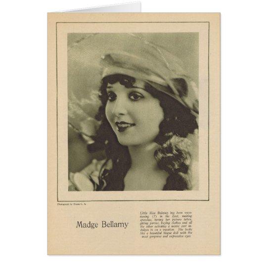 Madge Bellamy 1923 Grußkarte