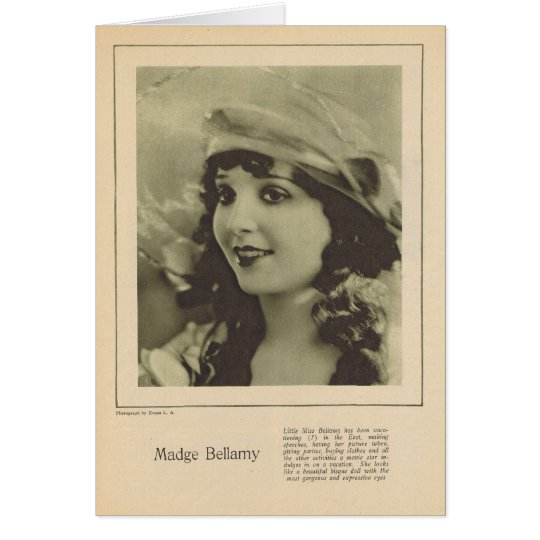 Madge Bellamy 1923 Karte