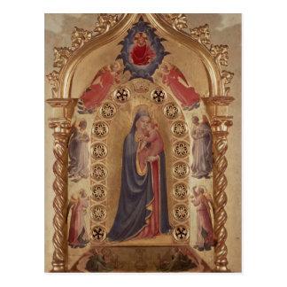 Madonna der Sterne Postkarte