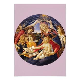 Madonna des Magnificat durch Botticelli Karte