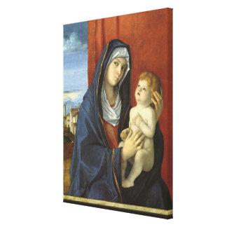 Madonna und Kind durch Giovanni Bellini Leinwanddruck