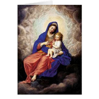 Madonna und Kind im Ruhm Karte