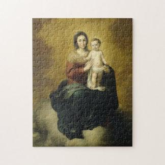 Madonna und Kind, Kunst-Puzzle