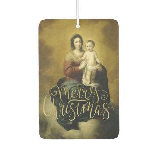 Madonna und Kind, Kunst-Weihnachten Lufterfrischer