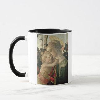 Madonna und Kind mit Johannes der Baptist, detai Tasse
