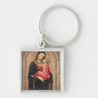 Madonna und Kind (Platte) 3 Schlüsselanhänger