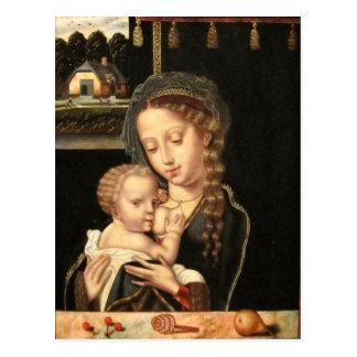 Madonna und Kinderkrankenpflege Postkarte