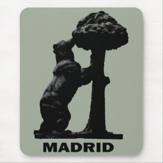Madrid-Bär Mousepad