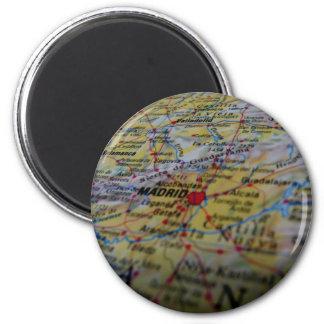 Madrid Runder Magnet 5,7 Cm