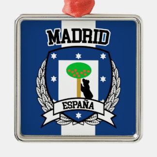 Madrid Silbernes Ornament