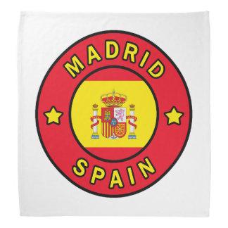 Madrid Spanien Kopftuch