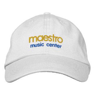 Maestro, Musik-Centerkappe Bestickte Kappen