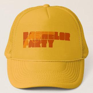 Mafia-Junggeselle-Party Truckerkappe