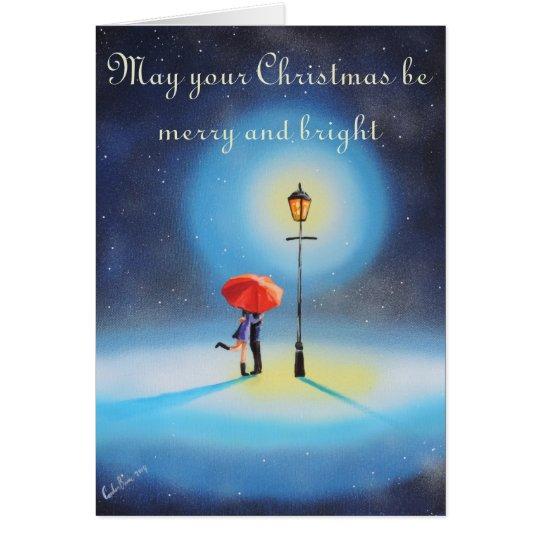 Mag Ihr Weihnachten fröhliche und helle Karte sein