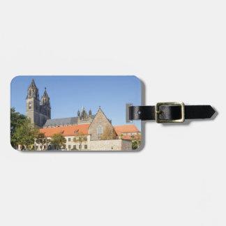 Magdeburg-Kathedralen-Foto Kofferanhänger