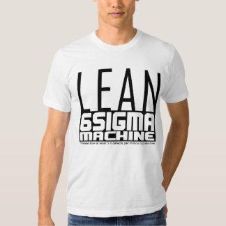 MAGERES sechs Sigma-Maschine Tshirts