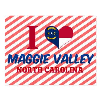 Maggie Tal, North Carolina Postkarte