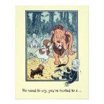 Magicien d'Oz vintage, fête d'anniversaire de garç Cartons D'invitation