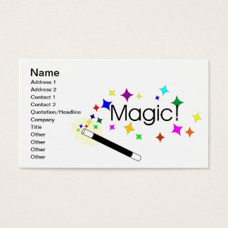 Magie Visitenkarte