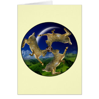 Magische Hasen Karte