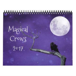Magische Krähen 2017 Abreißkalender