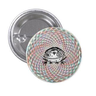 magische Krötenmedizinfahrt Runder Button 3,2 Cm