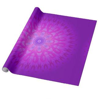 Magische Mandala Geschenkpapier