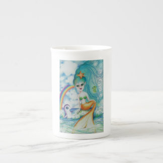 Magische mystische Meerjungfrau! Prozellantasse