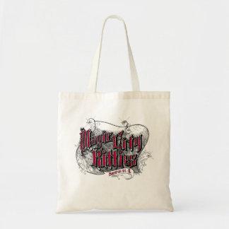 Magische Stadt-Kätzchen-Budget-Tasche Tragetasche