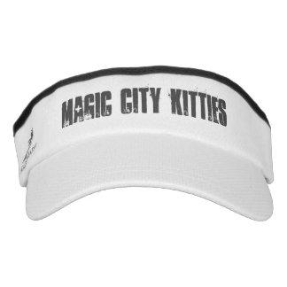 Magische Stadt-Kätzchen-Maske Visor