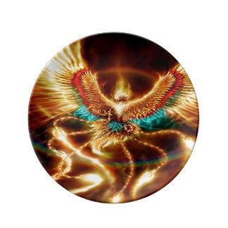 Magische u. mystische Fantasie Porzellanteller