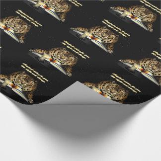 Magische Wünsche vom Leoparden Mage Geschenkpapier