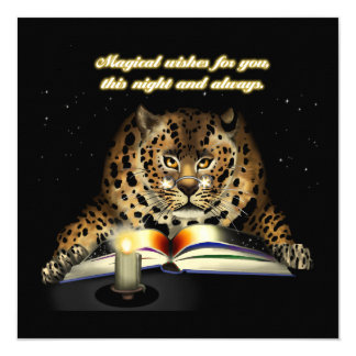 Magische Wünsche vom Leoparden Mage Karte