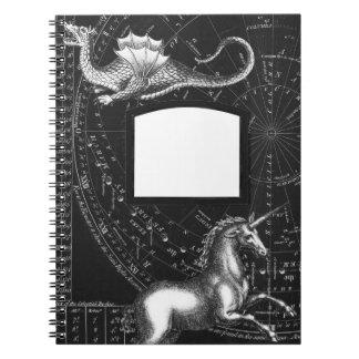 Magischer Geschöpf-Konstellations-Notizblock Notizblock