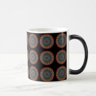 Magischer Kreis-verwandelnde Tasse