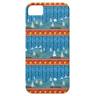 Magischer Weihnachtshintergrund iPhone 5 Schutzhülle
