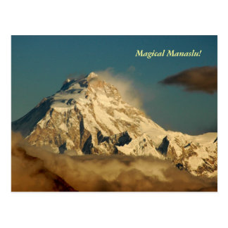 Magisches Manaslu Postkarte