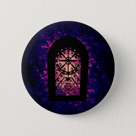 Magisches Portal Runder Button 5,7 Cm