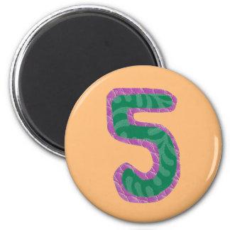 Magnet der Nr.-fünf