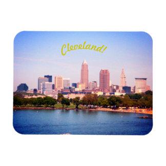 Magnet der See-Skyline-(Cleveland OH-)