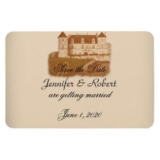 Magnet Flexible Économies vintages de mariage d'établissement
