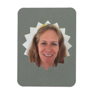 Magnet Flexible Grand cadre gris de photo de Sun