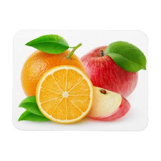 Magnet Flexible Pommes et oranges